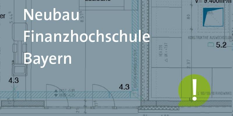 Neubau der Hochschule für den öffentlichen Dienst des Freistaats Bayern