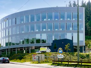 Buerogebaeude Hees-buerowelt in siegen, HLS-Planung Neubau