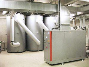 Bivalentes Heizsystem mit BHKW und Gas-Spitzenlastkessel Wirtschaftlichkeitsuntersuchung Waermeversorgung