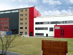 feuerwehr rettungstrainingszentrum frankfurt, neubau, HLS-Planung durch g-tec