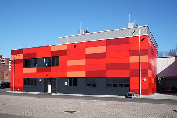 feuerwehrschule in duesseldorf mit atemschutz-uebungszentrum
