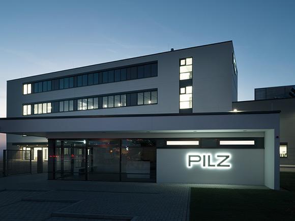 Neubau Firma Pilz, Energiekonzept, Planung, Monitoring