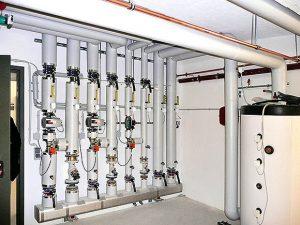 bivalente Heizanlage mit Gas-Absorptionswärmepumpe und Gaskessel im Siegbogen-neubau