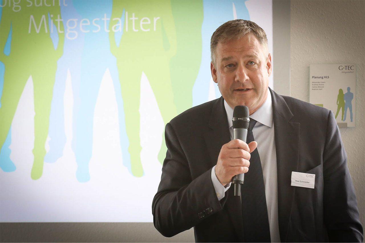 Axel Schneider (GF G-TEC) zum Thema Arbeitgebermarke
