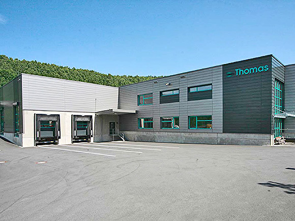 Neubau der Firma Thomas-Magnete, HLS-Planungdurch g-tec